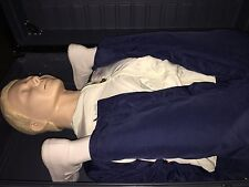LAERDAL RESUSCI ANNE CPR FULL BODY AIRWAY MANAGEMENT MEDICAL TRAINING MANIKIN