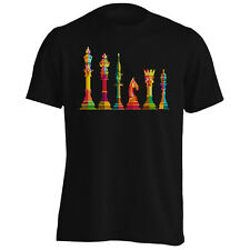 Arte Pieza De Ajedrez Para Hombres Camiseta/Camiseta sin mangas v538m