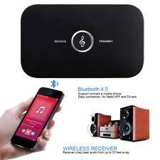 2in1 Wireless Bluetooth Audio Transmitter & Receiver A2DP Home Stereo TV Adapter