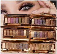 New Diamond 9 Colours Glitter Sparkle Eyeshadow Palette Makeup Eye shadow Set