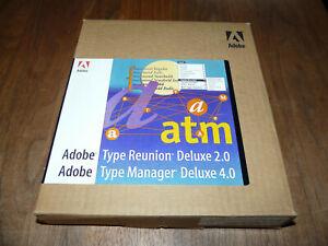 Adobe TypeManager Deluxe 4.0 Vollversion inkl. Type Reunion Deluxe 2.0 für Mac