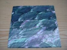 Silver Tint Abalone Shell Sheet 2 Make Jewellery -  4x4