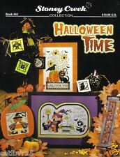 Halloween Time  ~ Counted Cross Stitch Leaflet ~ NEW ~ Stoney Creek