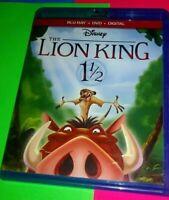 THE LION KING 1 1/2 BLU-RAY/DVD (NO DIGITAL INC.) Disney Animated Family Sequel