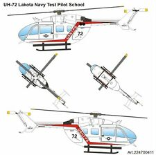 Arsenal-M HO scale UH-72 Lakota US-Navy-Test-Pilot-School kit