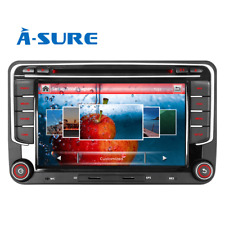 "7"" Autoradio CD DVD GPS NAVI DAB+ Bluetooth für VW Touran Tiguan T5 Golf 5 6Plus"
