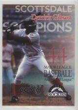 1997 Arizona Fall League All-Stars Derrick Gibson #44.1