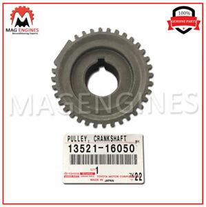 13521-16050 GENUINE OEM CRANKSHAFT TIMING PULLEY 1352116050