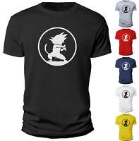 Men Vegeta Dragon Goku Kid Ball Z Saiyan Gift  T Shirt