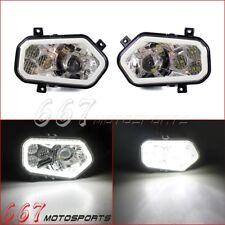 Pair LED Headlight Headlamp Replacement Lamps for Polaris RZR 900 XP 4 2011-2014