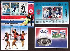 COREE BLOCS Le sport: Ski,patinage,football, divers BX8