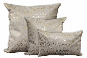 Rodeo Cowhide Pillow Case Double Sided - 3 Pc Value Set