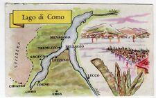 figurina SERIE ITALIA LAGHI PRINCIPALI LA FOLGORE N. 137 LAGO DI COMO NEW