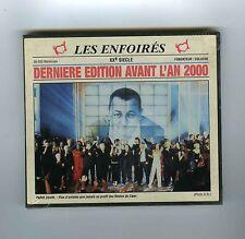 CD (NEUF) LES ENFOIRES DERNIERE EDITION AVANT L'AN 2000