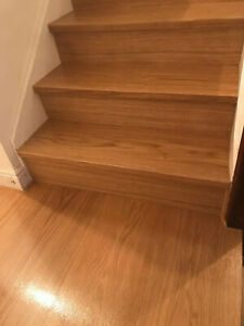 13 Oak Stairs steps Cladding Kit  For Stairs,risers and treads