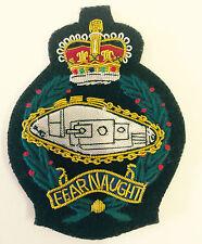 Royal Tank Regimental Wire Blazer Badge (Queens Crown)
