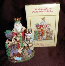 The International Santa Claus Collection The Three Magi Spain Dillards SC19 1995