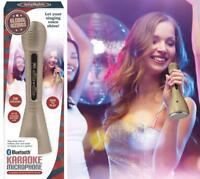 Global Gizmos Bluetooth Karaoke Sing Along Microphone and Speaker