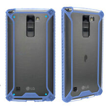 For LG Stylo 2 Plus 2016 Case Slim Fit Durable Shockproof Protective Cover Blue