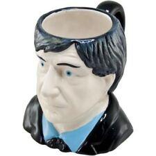 DR WHO 2ND DOCTOR 50th YEAR CERAMIC TOBY JUG 3D MUG PATRICK TROUGHTON MOE HOWARD