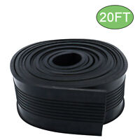 """New! 20FT Garage Door Bottom Rubber Weather Seal Strip Replacement 5/16"""" T End"""