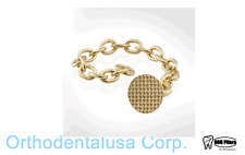 50 Bondable DENTAL ORTHODONTIC ERUPTION APPLIANCE GOLDEN EYELET -CHAIN A172a