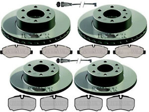 IVECO DAILY QUALITY FRONT & REAR BRAKE DISCS AND PADS & LEADS -REAR SINGLE WHEEL