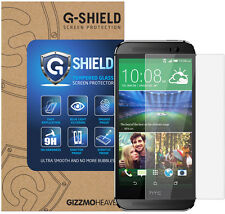 G-Shield® 100% Genuine Tempered Glass Screen Protector Protection For HTC One M8