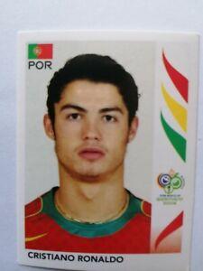 "ULTRA RARE !! ROOKIE Sticker CRISTIANO RONALDO ""FOOT WORLD CUP 2006"" PANINI"