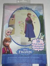 Disney Frozen Princess Anna Peel & Stick Wall Decals **NEW**