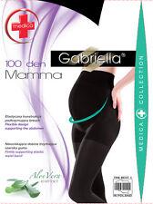 100 Denier  Comfortable Maternity Tights for Pregnancy S,M,L  GABRIELLA