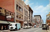 Louisville KY Readmore Card Shop~Rialto Theatre~Early 1950s Cars~Taxis Postcard