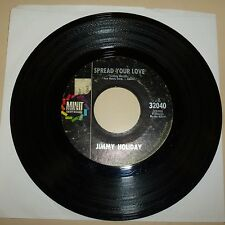 NORTHER SOUL DANCER 45 RPM RECORD - JIMMY HOLIDAY - MINIT 32040