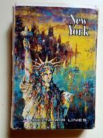Vintage New York City Delta Air Lines Playing Cards Lynn Sweeney Art Free Shipp.