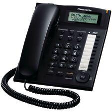 Téléphone fixe Panasonic KX-TS880EXB LCD Noir Fonction Mains Libres