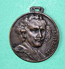 Medalla De Bronce De Rembrandt 1907 Lucas-fijo