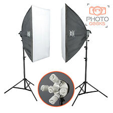 2750w continuous softbox éclairage studio kit-photographie photo vidéo portrait