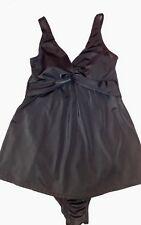 Motherhood Black Maternity Swimsuit Swimwear Size Small S EUC Beach Cruise Pool