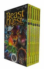 Beast Quest Series 6 Adam Blade 6 Books Boxed Set Collection Vespick the Wasp...