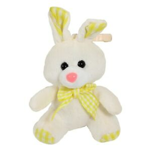 Clip on Easter Bunny Rabbit, Baby Easter Gift 10cm Yellow