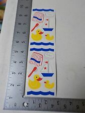 FRANCES MEYER BATH BUDDIES RUBBER DUCKY BOAT TOWEL STICKERS SCRAPBOOKING A3060