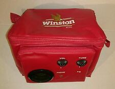 Vintage 1993 Winston Weekends Cooler Bag Radio Red Great Condition Used RJRTC