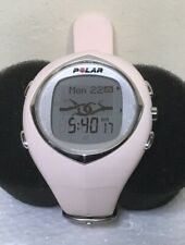 Polar F6 Ladies Light Pink Watch Only NO HR Band Sml/Med Band #1