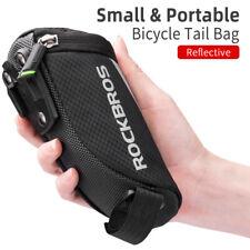 Bicicleta ROCKBROS Bolsas Bolsas de silla de montar Reflectante portátil tija de sillín bici de nylon bolsas de cola