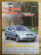 Étude Technique & Pratique RTA OPEL Astra essence 1,4 1,6 et 1,8 ETAI 06/2000