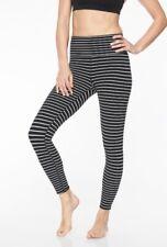 athleta contender 7/8 Stripe Leggings, Size XS, NWT