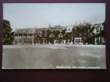 POSTCARD RP HAMPSHIRE LYNDHURST - GRAND HOTEL NEW FOREST