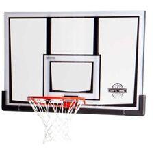 New Lifetime Basketball Backboard Rim Combo 90087 52-in Backboard Slam It Rim