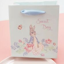 6x Peter Rabbit Paper Loot Lolly Bags. Favour Party Supplies Bunting Flag Deco