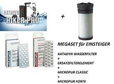Katadyn Hiker pro Filter 2016 Wasserfilter schwarz